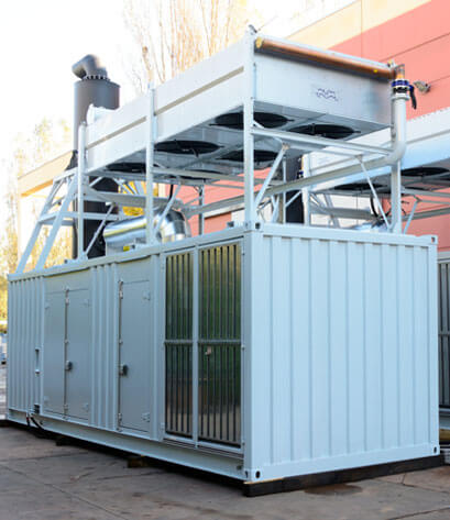 Custom cabins and soundproofing system for industrial and civil sectors